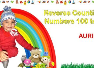 Learn Reverse Counting Numbers 100 to 0 with Aurius